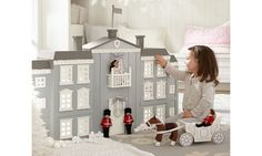 Luxurious Gifts for Babies and Kids: Pottery Barn Kids Royal Palace Dollhouse