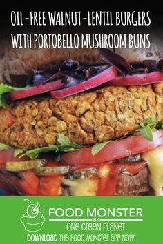 #eatfortheplanet #vegan #veganshare #vegansofig #plantbased #plantpower #healthy #eatclean #yum #foodporn #food #veganfoodporn #veganfood #vegancooking #veggieinspired #plantbasedcooking #plantbased #veg #eatgreen #eatclean #veganfoodshare #meatfree #meatless #dairyfree #plantpower #whatveganseat Burger Recipes, New Recipes, Vegan Recipes, Lentil Burgers, Veggie Burgers, One Green Planet, Daily Meals, Dairy Free, Sandwiches