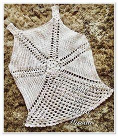 Débardeurs Au Crochet, Crochet Girls, Crochet Shoes, Crochet Cardigan, Crochet Clothes, Crochet Bikini, Crochet Summer Dresses, Crochet Summer Tops, Crochet Tank Tops