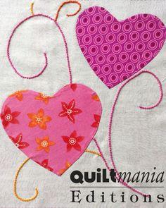 Bloc 14 - Block 14  Découvrez ce bloc GRATUIT avec son patron sur Quiltmania.fr. Let's discover this FREE block (and its pattern) on quiltmania.com