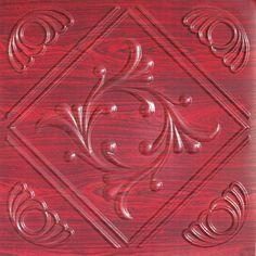 "Faux Tin Ceiling Tile - 24""x24"" - #253"