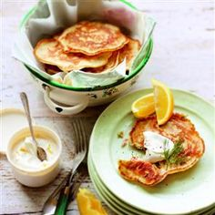 Salmon With Thyme And Three-Lemon Creme Fraiche Recipes — Dishmaps