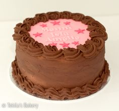 Chocolate cream cake #tekilasbakery