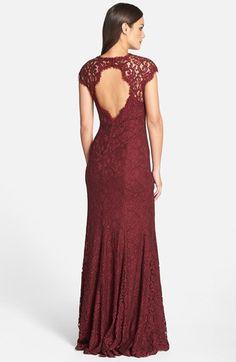 Tadashi Shoji #Auburn Corded #Lace #gown (#regular & #Petite) by #TadashiShoji