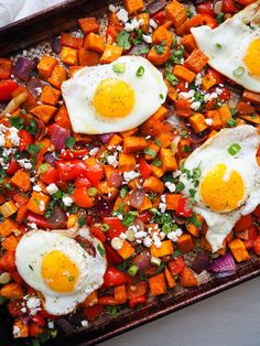 This easy and healthy sweet potato hash is spiced with chili and orange for a fun twist!  #rachaelhartleynutrition #thejoyofeating #sweetpotato #sweetpotatorecipes #breakfast #breakfastrecipes #healthyrecipes #glutenfree #glutenfreebreakfast #vegetarianbreakfast