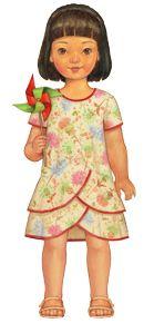 pinwheel tunic + slip dress sewing pattern | Shop | Oliver + S $15.95