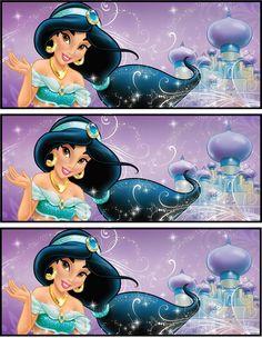 Bookmarks Jasmin Party, Princess Jasmine Party, Princess Sofia Party, Disney Princess Party, Princess Birthday, Aladdin Birthday Party, Aladdin Party, 6th Birthday Parties, Princesa Disney Jasmine