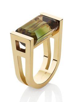 Ct Turmalin Ring by Mikado Contemporary Jewellery, Modern Jewelry, Jewelry Art, Gemstone Jewelry, Silver Jewelry, Jewelry Accessories, Fine Jewelry, Jewelry Design, Jewellery Box
