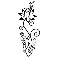 Asia - fire, lotus, flower, butterfly, rebirth, overcoming adversities, transformation, freedom, healing