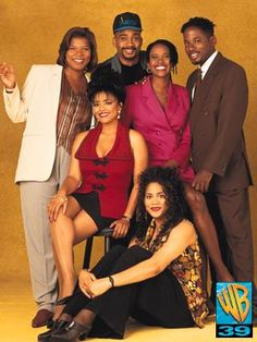 Living Single- Thursday nights in the Living Single, Single Life, 90s Tv Shows, Old Shows, Beth Moore, Movies Showing, Movies And Tv Shows, Black Sitcoms, Black Tv Shows