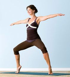 Beat Stress, Weigh Less:  Calorie-Burning Yoga Workout