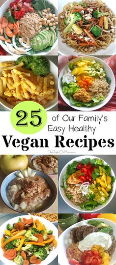 25 of our family's Easy Healthy Plant Based Meal recipes and ideas. These are almost all the meals that we would eat while we were living in Japan. I have most of the recipes linked so bon appetit!