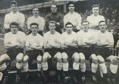 Spurs 1958 Team Pictures, Team Photos, Tottenham Hotspur Players, London Pride, Spurs Fans, White Hart Lane, School Football, North London, Old School