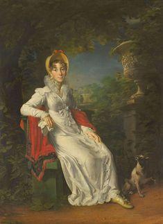 Francois Gerard. Carolina Bonaparte en el Bosque de Bolonia