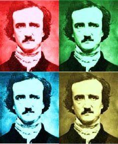 Edgar Allan Poe Pop Art by pizza200