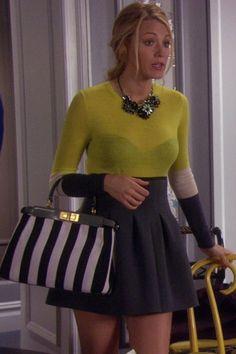 Blake Lively as Serena Van Der Woodsen - Gossip Girl