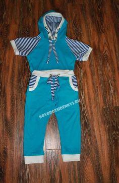 детский трикотажный костюм выкройка