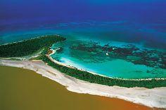 Punta Laguna dans le Parc National del Este, Ile de la Saona, République Dominicaine