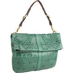 FOSSIL DESI FOLDOVER HOBO $125.99. I want every color.