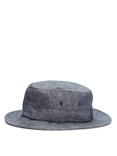 986a7f0a92f Chambray Bucket Hat by UNIONMADE INDIGO at Gilt Bucket Hat
