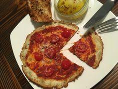 Das Warten hat ein Ende! Endlich eine Low-Carb-Pizza die schmeckt! Klickt hier und findet das Rezept zur leckeren und schnellen low carb Pfannen-Pizza