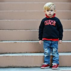 """Little Wonderland Clothing on Instagram: """"A little CHAOS cutie!!!! Seriously, all the @theartistboys have some mad style!! Fitzgerald is rockin our CHAOS fleece + one of my fav boy denim @rowenchristian ❤️ Enjoy this little CHAOS! #instafashion #fashionista #styles #leo #streetstyle #ootd #style #trendykiddies #hipsterkidstyles #trendy_tots #igkiddies #kidfashion #weekleyoutfitter #toddlerfashion #baby #hipster #hipkids #photooftheday #hipsterkidstyles #radkidsfashion #streetfashion"""
