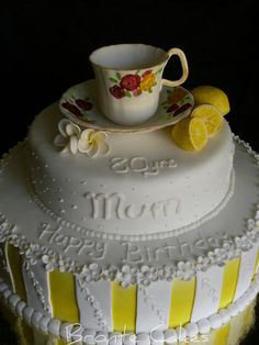 Beautiful 80th Birthday Cake Picture Birthday Cakes Pinterest