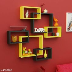 Shelves Attractive MDF Wall Shelves Material: MDF  Size(L x B X H): Large Box 40 cm x 10 cm x 33 cm small Boxes: 28 cm  x 10 cm  x 17 cm  Description: It Has 6 Pieces Of Wall Shelves Country of Origin: India Sizes Available: Free Size   Catalog Rating: ★4.3 (1117)  Catalog Name: Sia Attractive MDF Wall Shelves Vol 2 CatalogID_655761 C127-SC1622 Code: 1811-4533205-7113