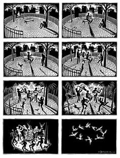 Beautiful imagery and social commentary from artist Eric Drooker.