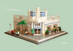 The Ocean Restaurant by Snaillad (Andrew). Pinned from Modularsbykristel