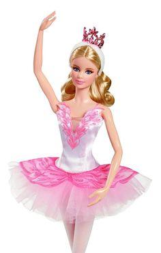 2016 Barbie Ballet Collector Wishes Doll Girls Toy Pink Tutu Tiara Keepstake New #Barbie