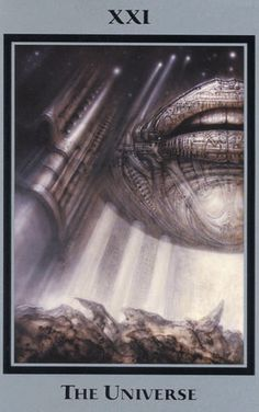 HR Giger's Tarot of the Underworld