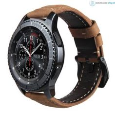 Cheap genuine leather strap, Buy Quality leather strap directly from China replacement leather strap Suppliers: V-MORO Genuine Leather Strap For Samsung Gear Band Replacement Watch Bracelet For Gear Classic frontier Smart watch Fossil Watches For Men, Samsung Gear S3 Frontier, Seiko Watches, Leather Watch Bands, Sport Watches, Casio Watch, Smartwatch, Bracelets, Das Kapital