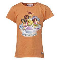 LEGO Wear Star Wars - Camiseta para niña, color naranja, talla 6 años (116 cm) #camiseta #realidadaumentada #ideas #regalo