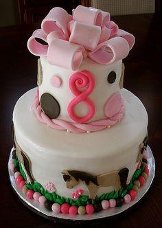 Horse Cake for Karlie's 8th Birthday