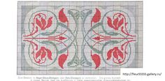 Cross Stitch Art, Cross Stitch Borders, Cross Stitch Samplers, Cross Stitch Flowers, Cross Stitching, Cross Stitch Embroidery, Cross Stitch Patterns, Motifs Art Nouveau, Motif Art Deco