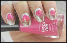 http://www.bettysbeautybombs.com/2014/06/06/nails-magazine-31-day-challenge-ice-cream-nails/ / #31nails2014 Day 6-Ice Cream Nail Art