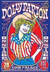 Cod. 695 Dolly PARTON Cow Palace  Daly City (California) 29 December 1984