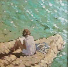 Gordon Hunt A quiet read Wychwood Art