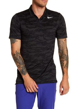 Mobility Camo Golf Polo Shirt by Nike on @nordstrom_rack