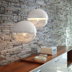 Koziol Orion Hanging Lamp - White