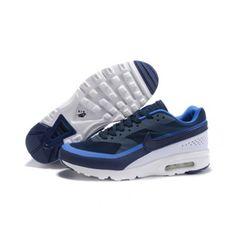 Nike Pánské - Sleva Nike Air Max 91 Pánské Běžecké Boty Černá Modrý 0825.  ggdb sneakers online bd08d75370