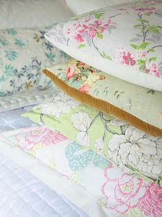 Selina Lake - Floral cushions | Flickr - Photo Sharing!