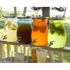 These jugs for the alcohol drinks shervin will make, but bigger!