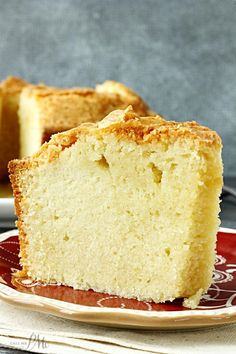 Favorite Whipping Cream Pound Cake- Heavy cream makes this vanilla cake wonderfully rich, dense, and sweet.