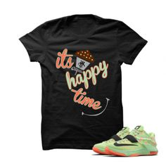 Its Cupcake Happy Time KD7 Easter Black T Shirt. Its Cupcake Happy Time KD7 Easter Black T Shirt