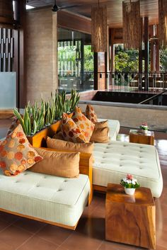 The property's lush tropical gardens and warm interiors add to the peaceful, secluded vibe. The Elysian Boutique Villa Hotel (Seminyak, Indonesia) - Jetsetter