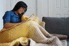 Ravelry: Cosy Sunday Fade Blanket pattern by Katrina Walser