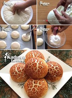 Leopard Pastry Recipe How? Leopar III required for pastry dough when water, warm milk and yeast, the yeast is taken into a deep container and stirred until dissolved. Bagel Recipe Bread Machine, Soft Bread Recipe, Bagel Bread, Recipes With Yeast, Donut Recipes, Pastry Recipes, Delicious Cake Recipes, Yummy Cakes, Sweet Recipes