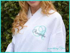 Set of 7 Personalized Initial and Name Robes  by SomethingYouGifts, $251.65